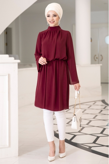DressLife  Barem Tunik Bordo