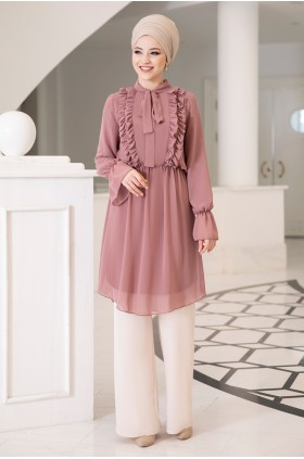 DressLife Love Tunic Dried Rose