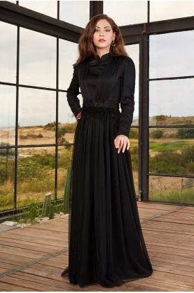 Annahar - Mira Evening Dress Black