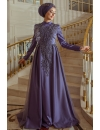 Pınar Şems - Nevra Evening Dress Purple