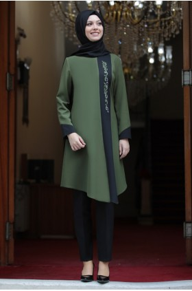 Semra Aydın - Authentic Suit Green