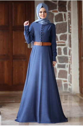 Ahunisa - Mina Dress Dark Denim