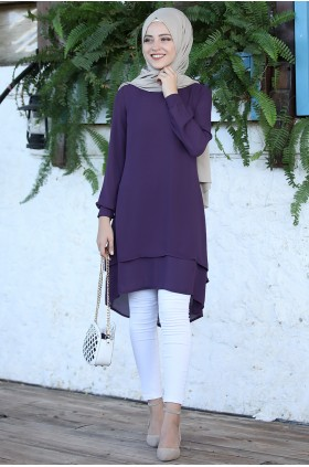 DressLife Hira Tunic Purple