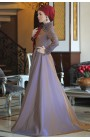 Fahrunnisa - Deren Evening Dress Mink