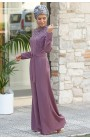 Fahrunnisa - Stone Patterned Overall Lilac