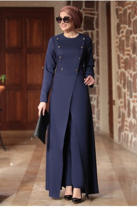 Piennar - İkbal Suit Navy Blue
