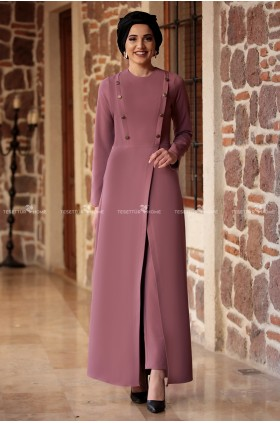 Piennar - İkbal Suit Dried Rose