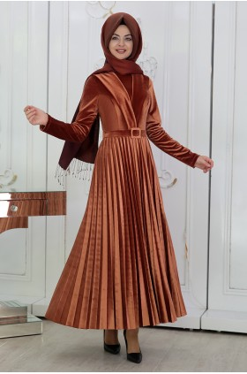 Pınar Şems - Gokce Dress Copper