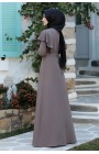 Rabeysa  - Damla Dress Mink