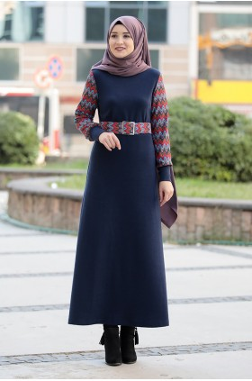 Rana Zen - Minel Dress Dark Blue
