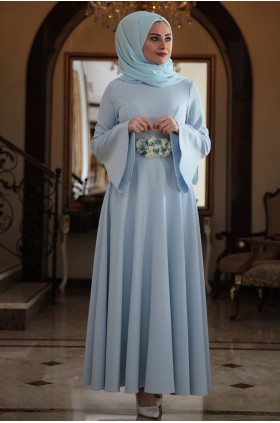 Seda Tiryaki - Alara Dress Baby Blue