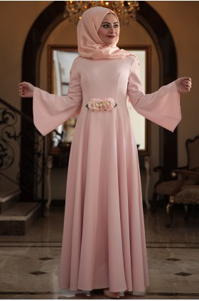 Seda Tiryaki - Alara Dress Salmon
