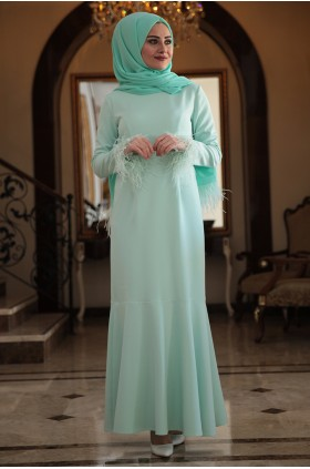 Seda Tiryaki - Narin Evening Dress Mint