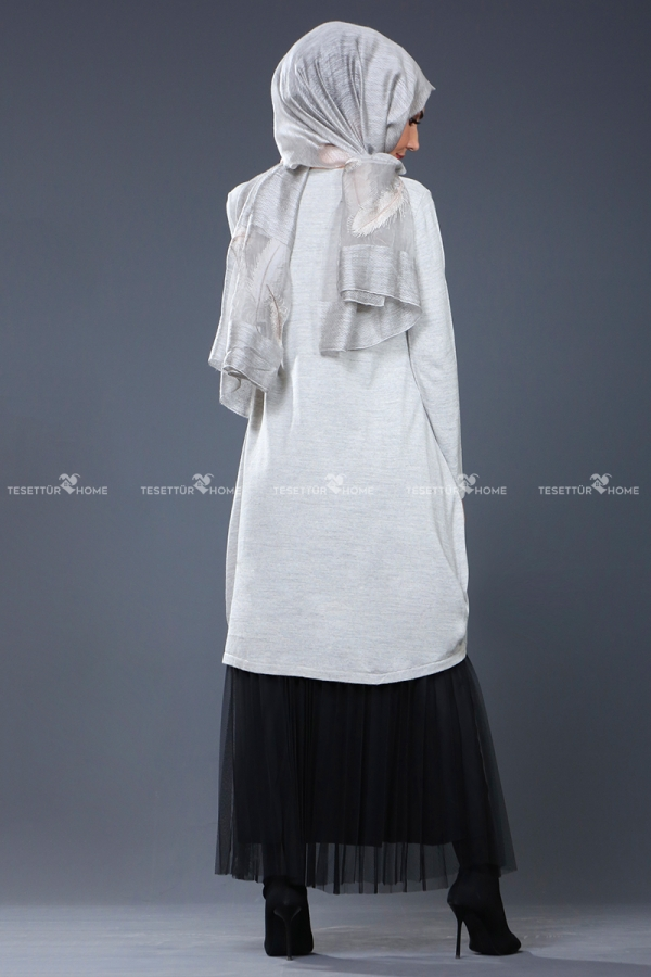 Som fashion - Hope Triko Tunik Gri