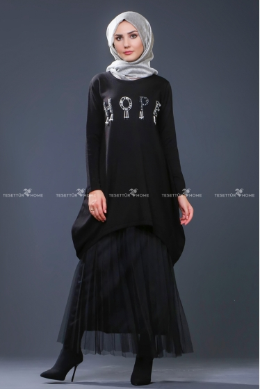 Som fashion - Hope Triko Tunik Siyah
