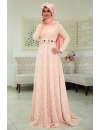 Som Fashıon - Menekşe Powder Evening Dress