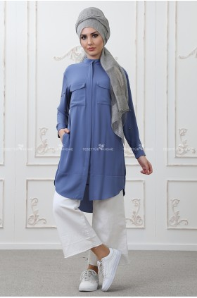 Som Fashion - Tarz Tunic Blue