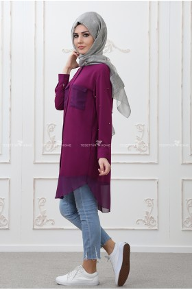 Som Fashion - Tarz Tunic Damson