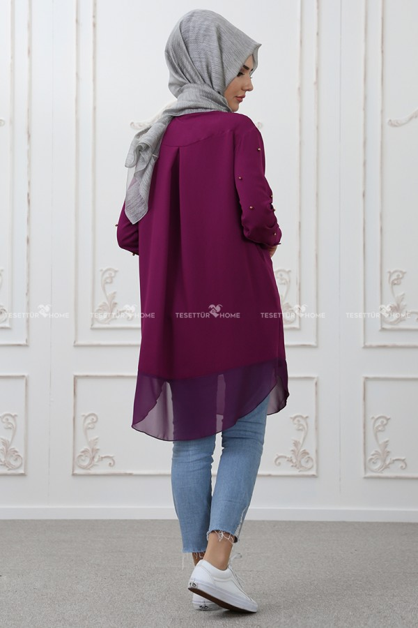 Som Fashion - Tarz Tunik Mürdüm