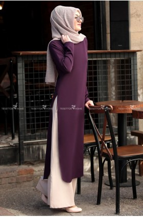 Sure - Hayat Suit Damson